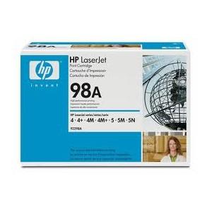 HP 92298A Cartouche Toner Noir Original(OEM)